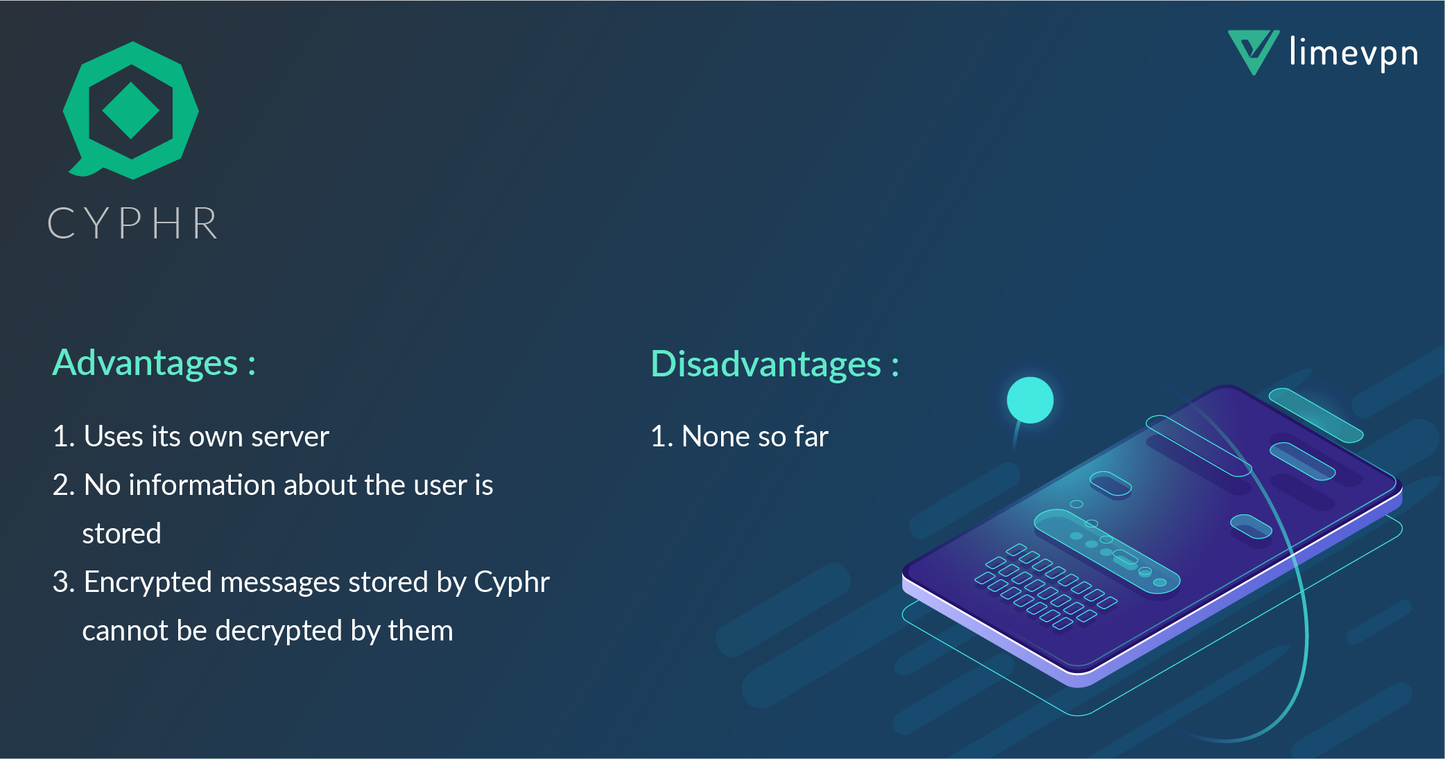 secure messaging app - Cyphr private messenger