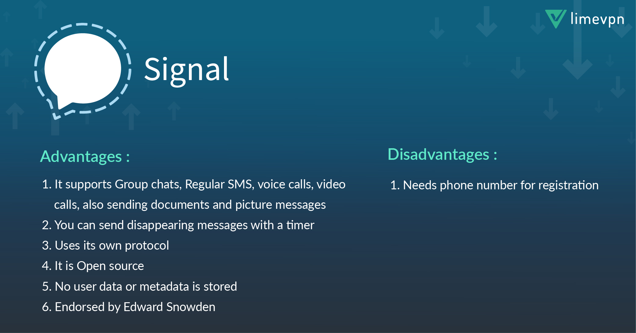 secure messaging app – Signal private messenger