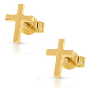 9k Gold Stud Earring_0