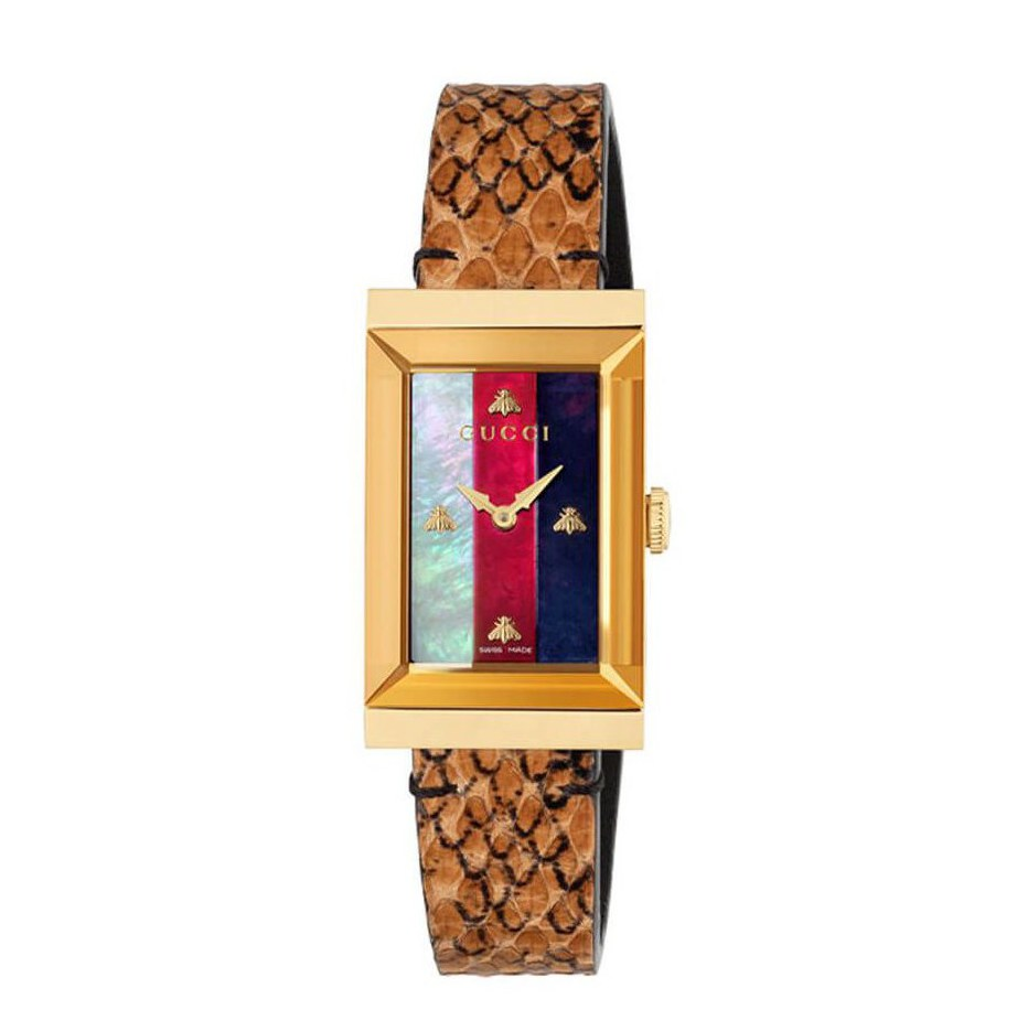 Gucci G-Frame Ladies Watch YA147402_0