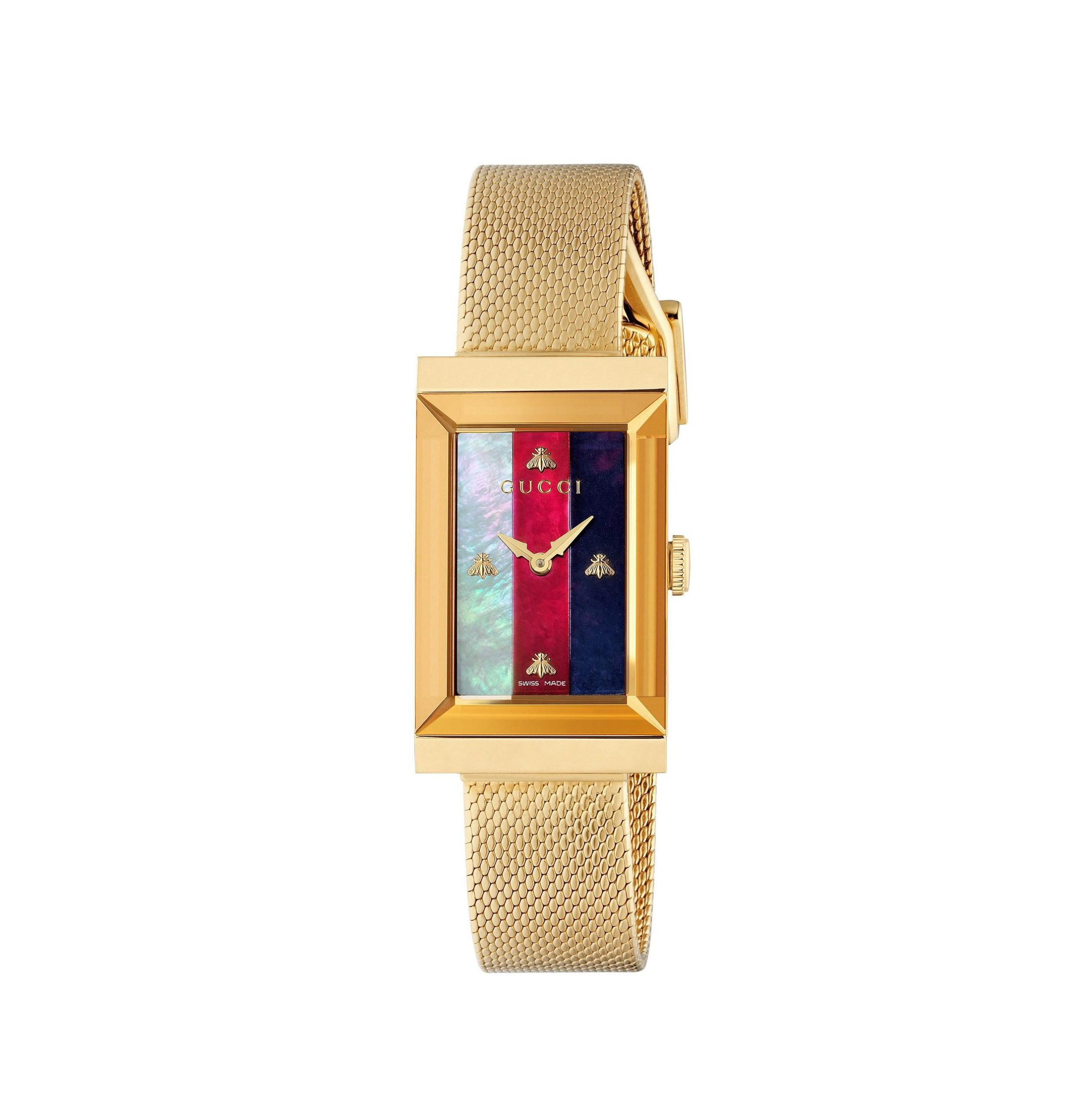 Gucci G-Frame Ladies Watch YA147410_0