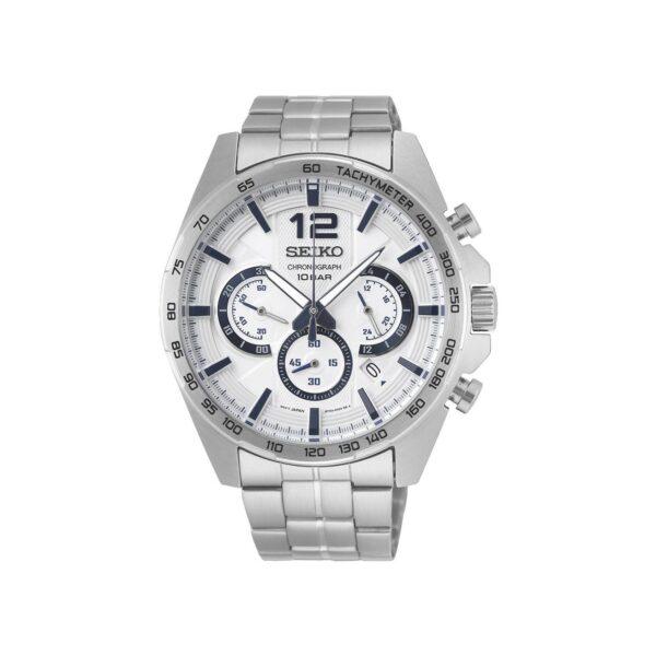 Seiko Chronograph Men's Watch Gents Watch Ssb343p_0