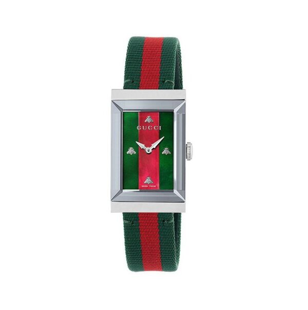 Gucci G-Frame Ladies Watch YA147404_0