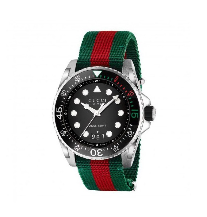 Gucci Dive XL Gents Watch YA136209_0