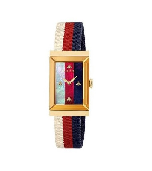 Gucci G-Frame Ladies Watch YA147405_0