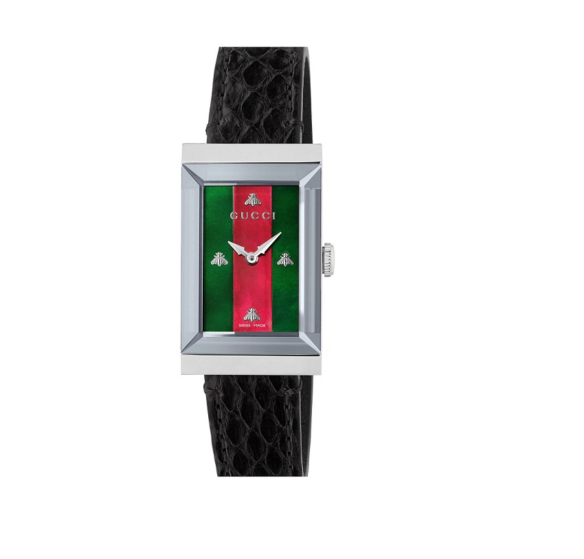Gucci G-Frame Ladies Watch YA147403_0