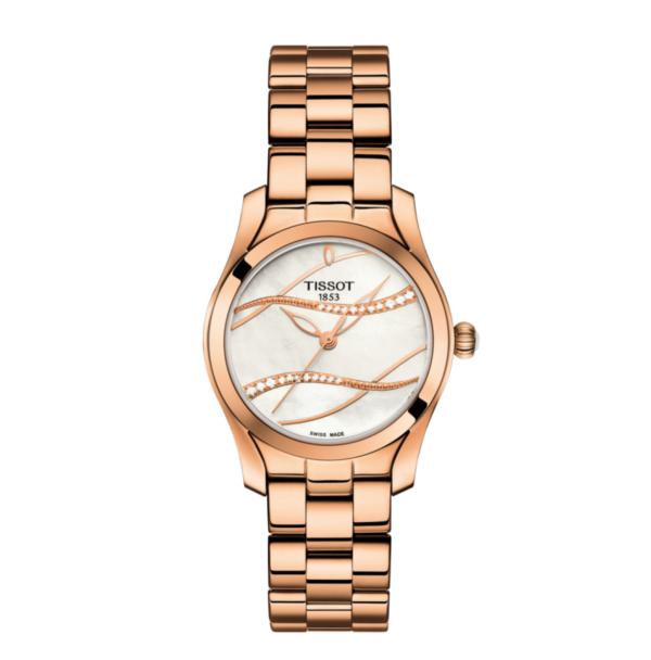 Tissot T-Wave Ladies Watch T1122103311100_0