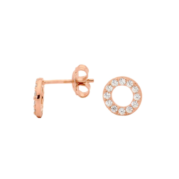Georgini Baby Circle Stud Earring Ie248rg_0