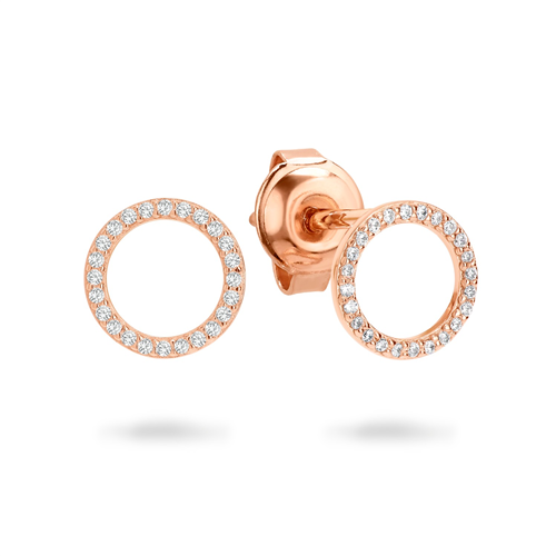 Ara Rose Gold Earring Ie742rg_1