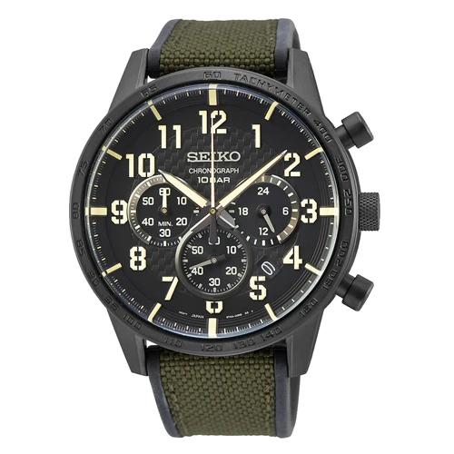 Seiko Chronograph Green Watch SSB369P_0
