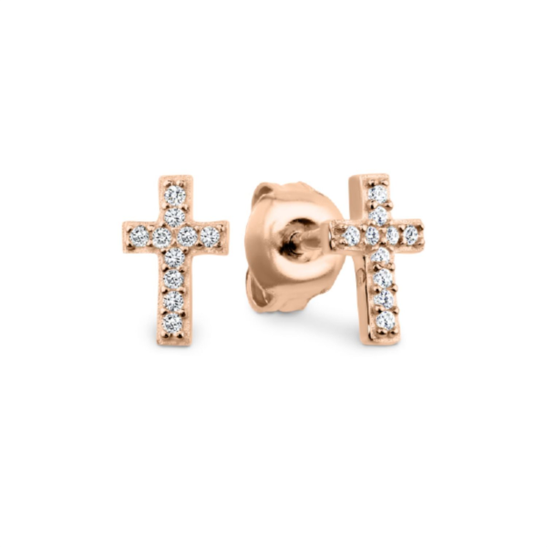 Georgini Baby Cross Earring Ie687rg_0