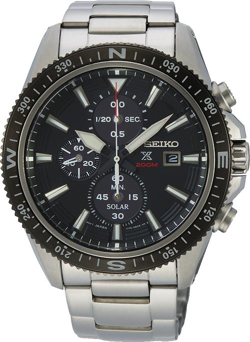 SEIKO Prospex Solar Chronograph Land Series Watch SSC705P_0