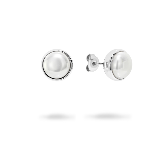 Georgini Lucca 10 Mm Pearl Earrings Ie717w_1