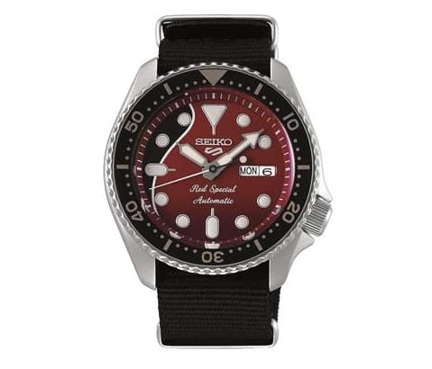 Seiko 5 Brian May 'Red Special' Edition Gents Watch Srpe83k_0