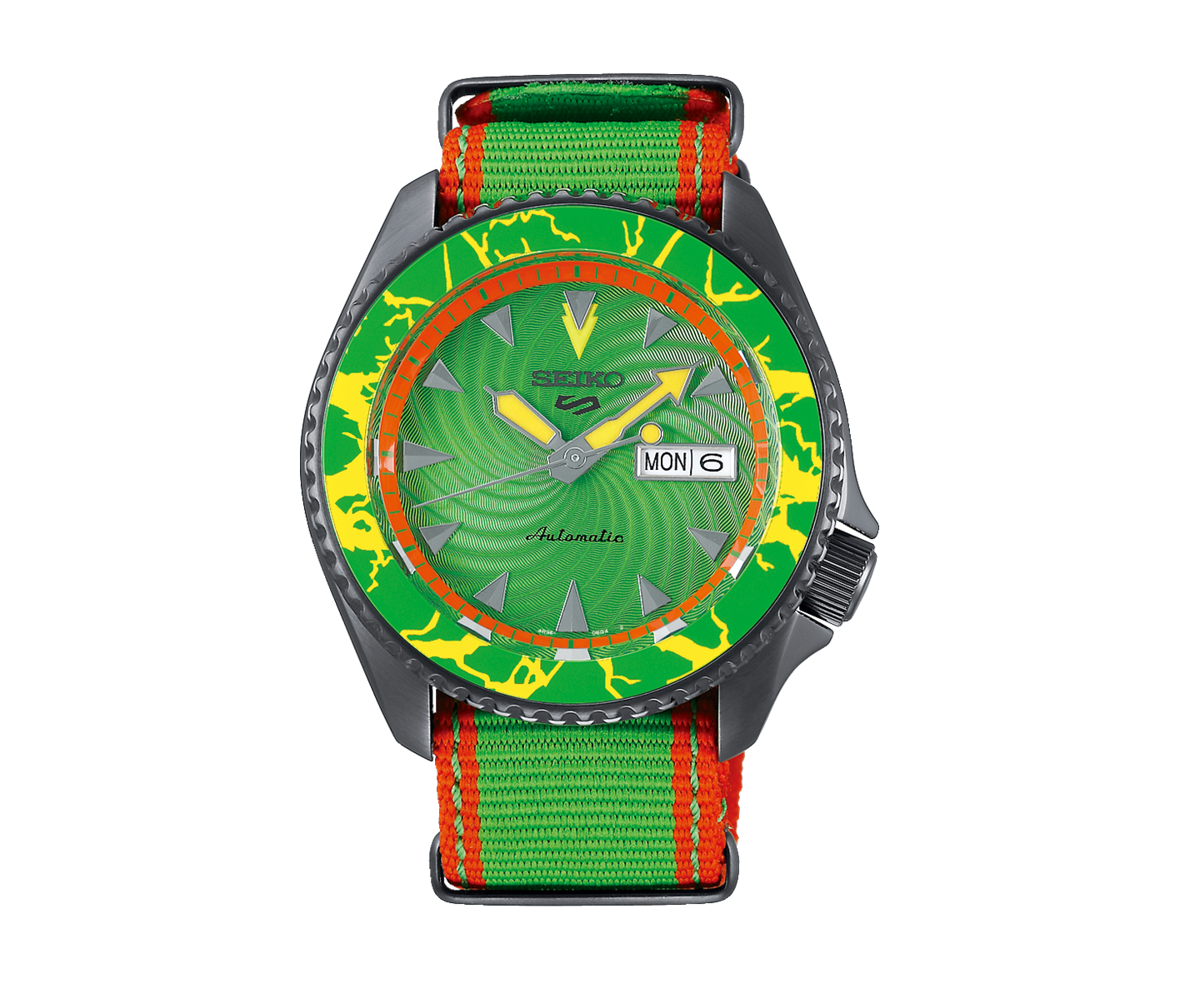 Seiko 5 X Street Fighter SRPF23K - BLANKA - Call Of The Wild_0