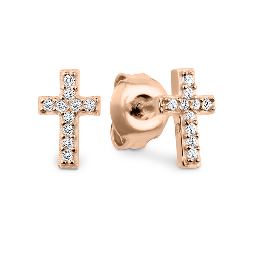 Georgini Baby Cross Earring Ie687rg_1