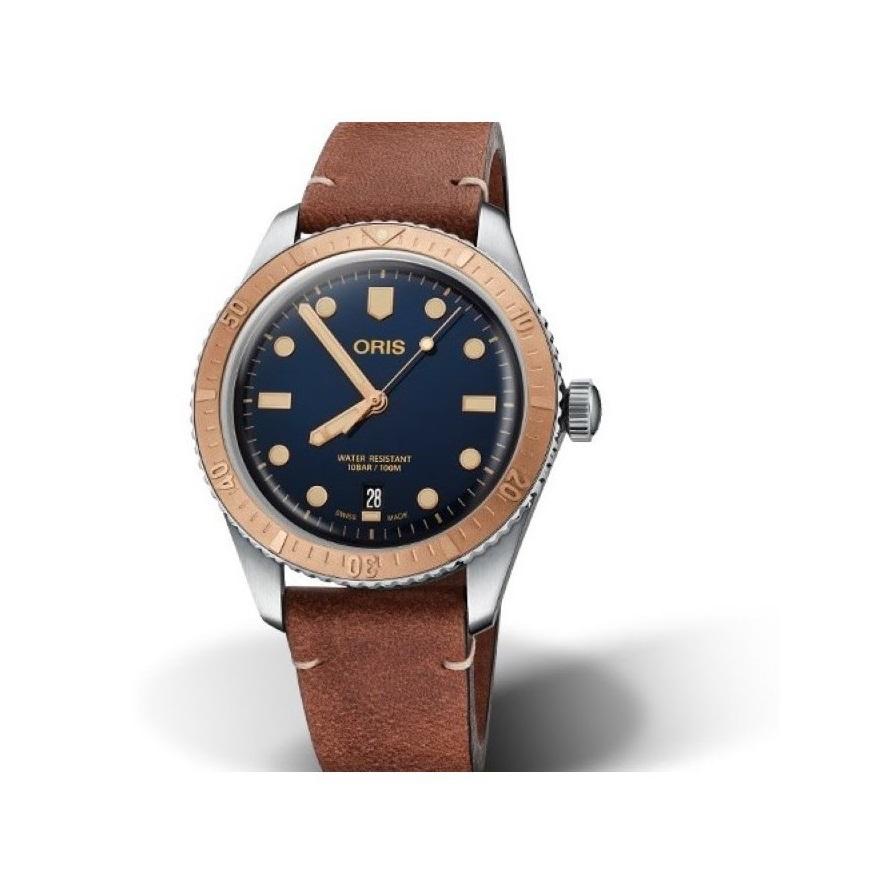 Oris Divers Sixty Five Gents Watch 0173377074355_0