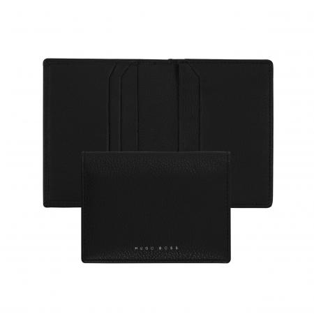 HUGO BOSS - Leather card wallet storyline black_0