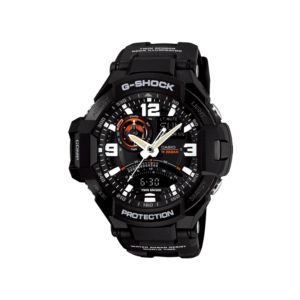 Casio G-Shock Analogue/Digital Mens Black Gravitymaster Watch GA1000-1A_0