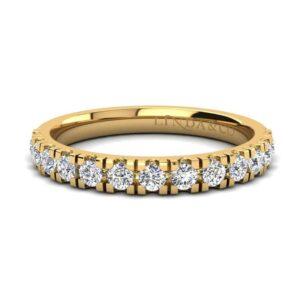 Diamond Essentials 18k Yellow Gold Claw Set Band_0