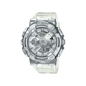 G shock duo metal transcameo GM110SCM-1A_0