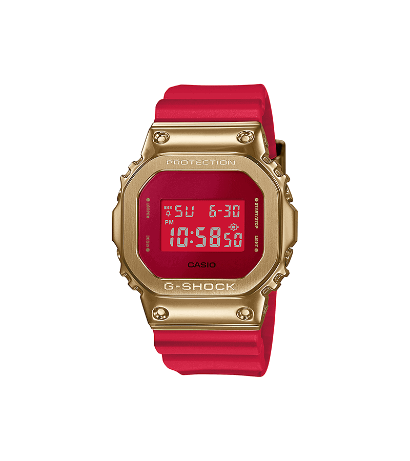 CASIO G-SHOCK CHINA RED DIGITAL GM5600CX-4D_0