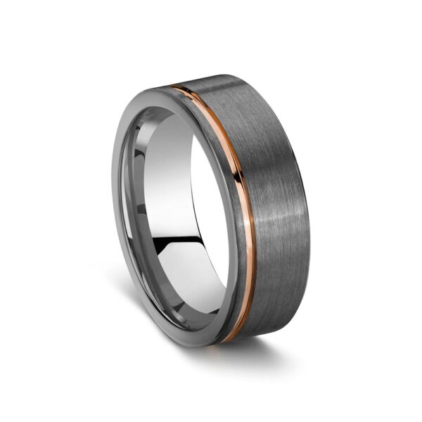Tungsten Infinity Ring Size T1/2_0