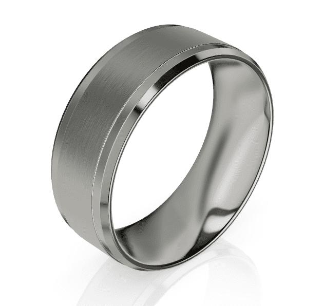 Titanium Gents Ring LC26003