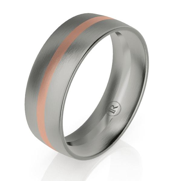 Titanium Gents Ring LC26002