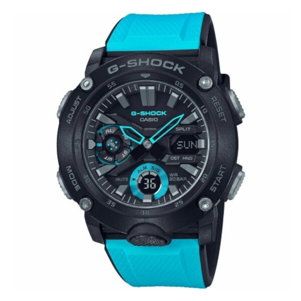 G Shock Ga2000-1A2 / Carbon Core/ Analog Digital._0