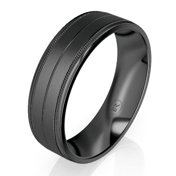 Zirconium Gents Ring LC1918