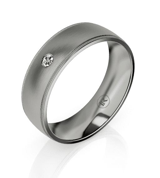 Titanium Gents Ring LC26008D