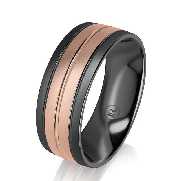 Zirconium Gents Ring LC9112