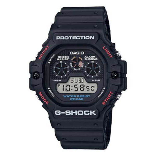 G Shock Dw-5900-1D Basics Theme Standard Digital_0