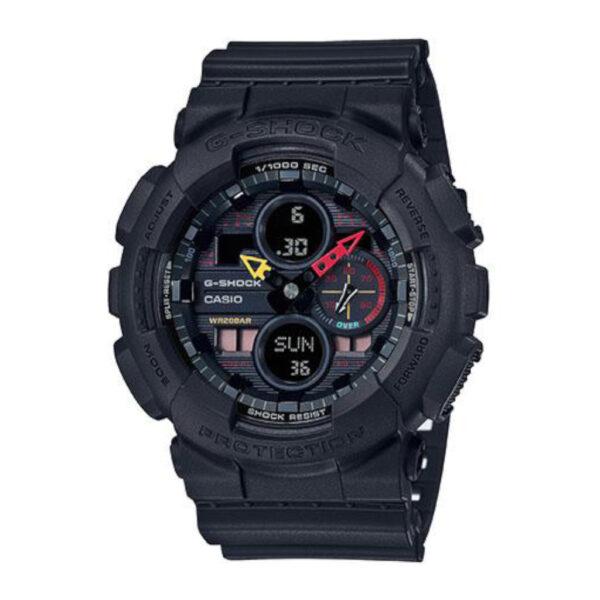 G Shock Ga140bmc-1A Black Case, Strap/Retro Dial_0