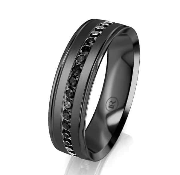 Zirconium Gents Ring LC8007D