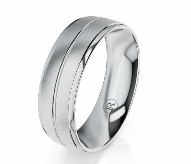 Platinum Gents Ring LC19113