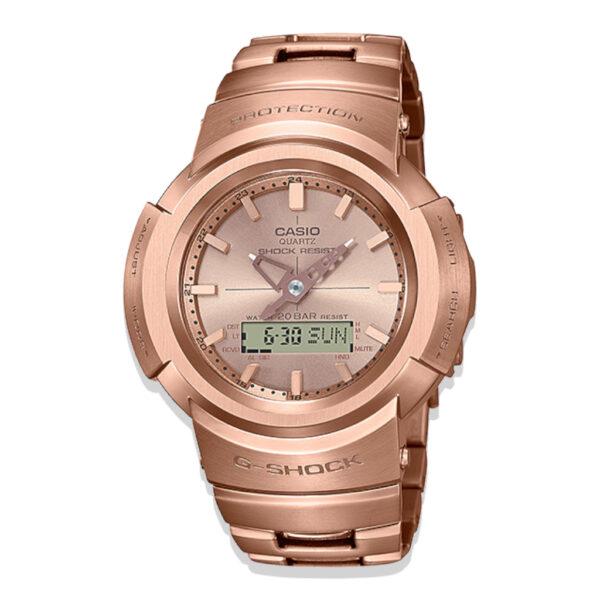 Casio G-Shock AWM500GD-4A Rose Gold Watch_0