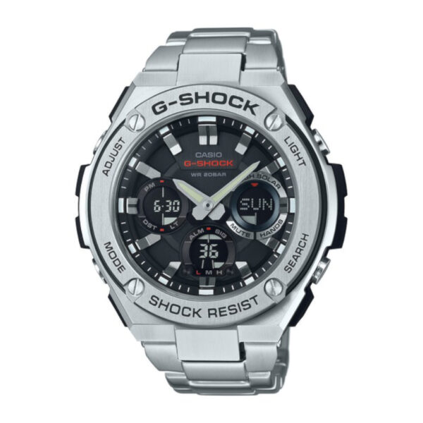 Casio G Steel Solar Time GSTS110D-1A Mens watch_0