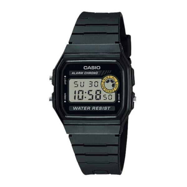 CASIO F94WA-8D Black Digital Resin Watch_0