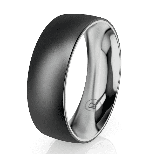 Zirconium Gents Ring LC6007