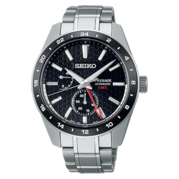Seiko Presage Automatic G.M.T Watch SPB221J_0