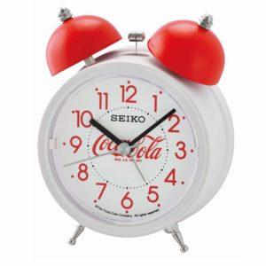 Seiko Coca Cola Table Alarm Clock QHK905-W_0