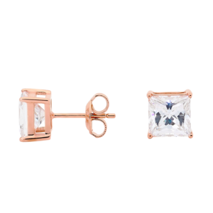 GEORGINI CLEAR SQUARE STUDS IE207RG_0