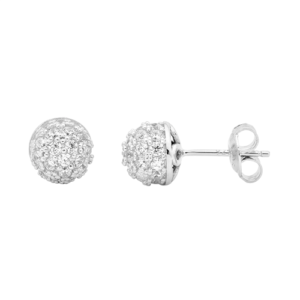 GEORGINI PAVE BALL STUD IE640_0