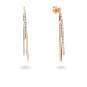 GEORGINI SABBIA 2 TONE EARRINGS IE722_0