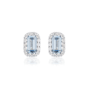 GEORGINI PARIS AQUAMARINE STUDS IE848BL_0