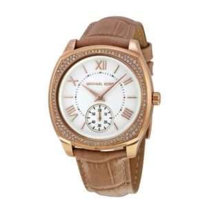 MICHAEL KORS BEIGE LEATHER MK2388_0