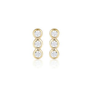 GEORGINI TRIO STUD EARRING IE930G_0