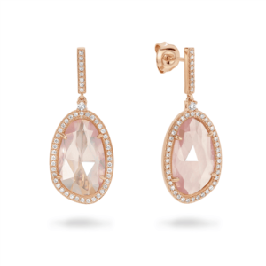 GEORGINI ROSE QUARTZ EARRINGS E715RG_0